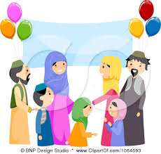 muslim family cartoon